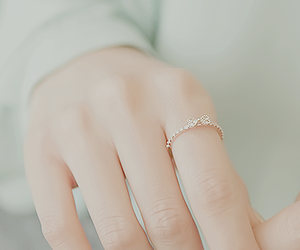 fashion, pretty, and ring image