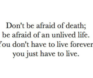 life, live, and death image