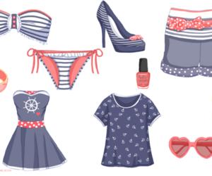 bikini and nautical image
