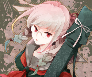dangan ronpa 2 and peko pekoyama image