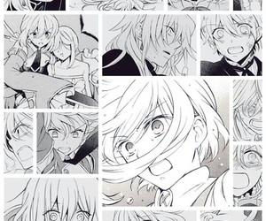 echo, manga, and noise image