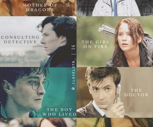 doctor who and harry potter image