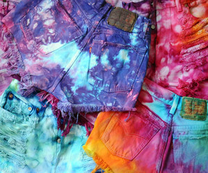 shorts, colors, and colorful image