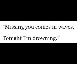 drowning, waves, and missing image