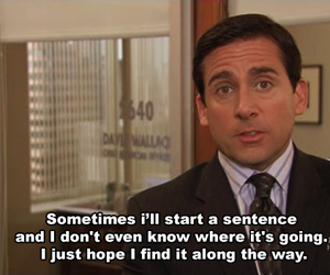 funny, the office, and quotes image