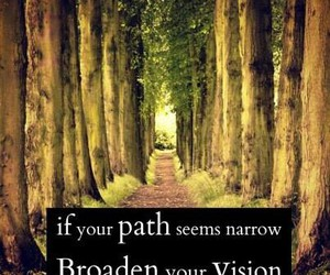 narrow, path, and quotes image