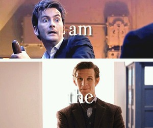 doctor who, matt smith, and christopher eccleston image