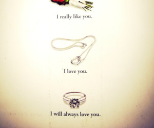 love, ring, and ice cream image