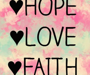 faith, fondo, and hope image