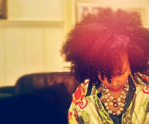 African, color, and Afro image