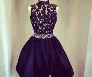 black, cute, and dress image