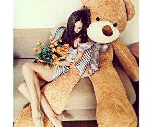 amor, oso, and solochicas image