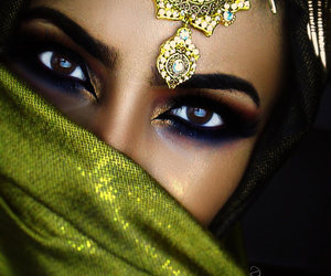 arabic, eyes, and make up image