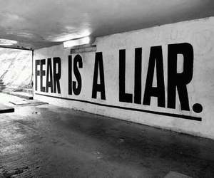 awesome, lies, and fear image