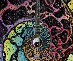 colourful, different, and guitar image