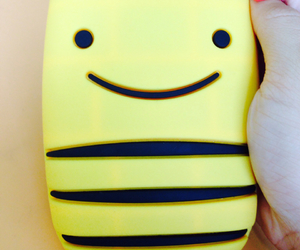 case, yellow, and cute image