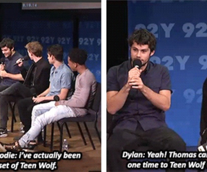 thomas, teen wolf, and dylan o'brien image
