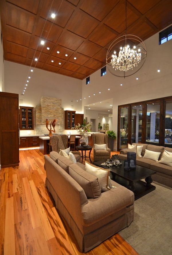 Furniture The New Design And Style Of High Ceiling Lighting