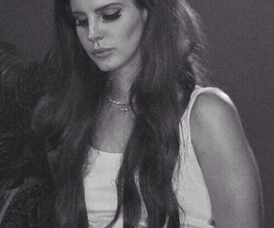 lana del rey, indie, and black and white image