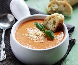 basil, tomato, and parmesan image
