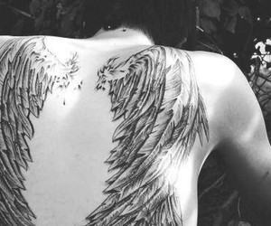 angel boy tatoo image