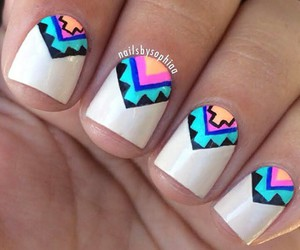 fashion, nail art, and etnico image