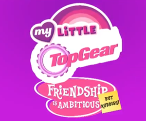 my little pony, top, and top gear image