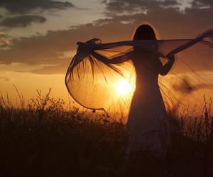 girl, sun, and photography image