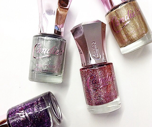 nail polish and candie's brand image
