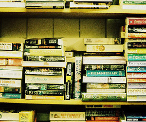 35mm, bookcase, and books image