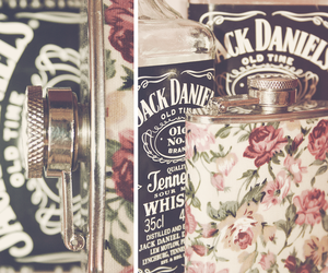 jack daniels, alcohol, and flask image