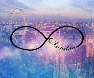 london, infinity, and galaxy image