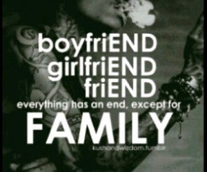 quote, boyfriend, and end image