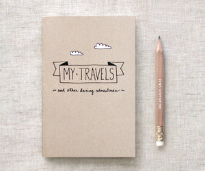 travel and notebook image