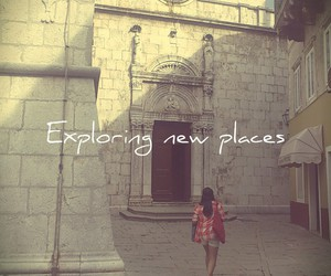 girl, kroatien, and places image
