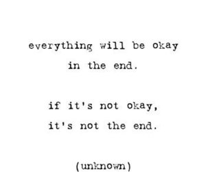 quotes, end, and okay image