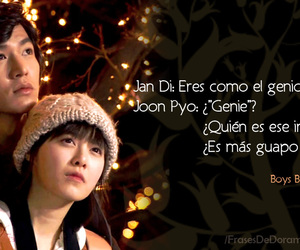 boys before flowers, drama, and quote image