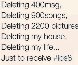 ios8, funny, and lol image