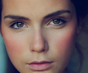 girl, beautiful, and eyes image