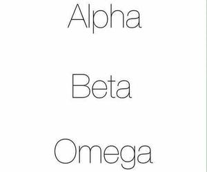 teen wolf, omega, and alpha image