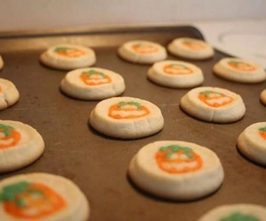 Cookies, fall, and Halloween image