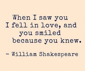love, quote, and shakespeare image