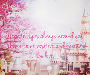negativity, love, and quote image