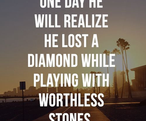 diamond, quotes, and stone image