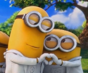 minions, cute, and funny image
