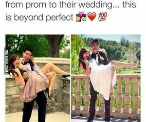 love, couple, and Prom image