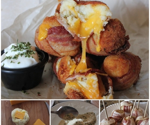 bacon, party idea, and bombs image