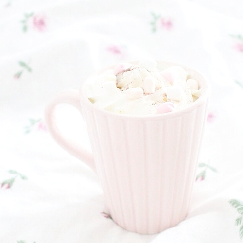 bright, cocoa, and cup image