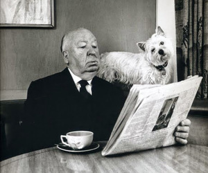 alfred hitchcock, Hitchcock, and dog image