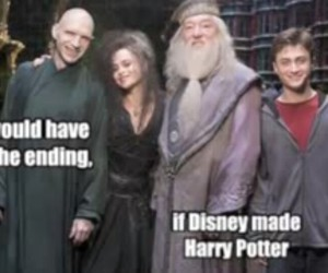 harry potter, disney, and dumbledore image